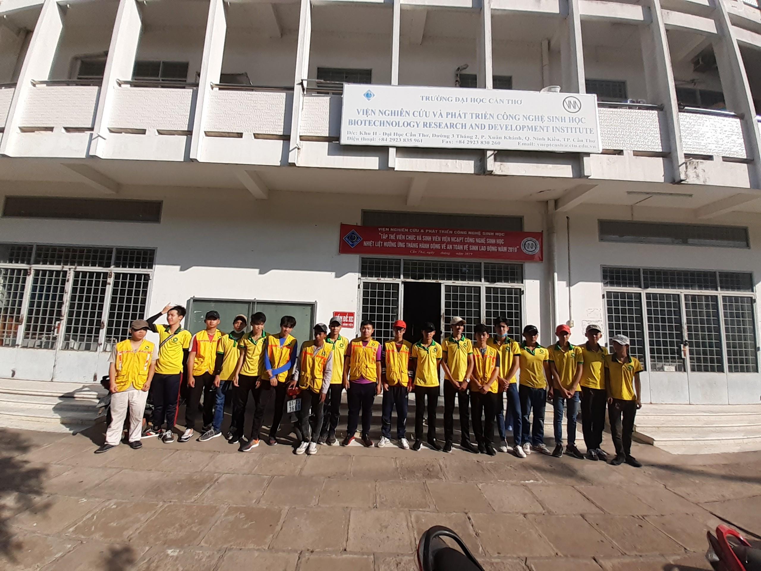 Di dời viện CNSH đại học Cần Thơ