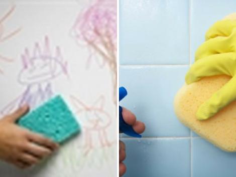 Cách vệ sinh tường sạch
