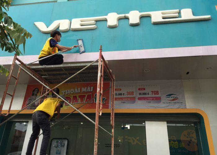Tổng vệ sinh chuỗi Viettel Telecom Cần Thơ