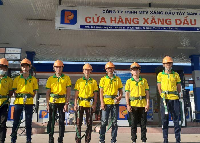 Dịch vụ tổng vệ sinh hệ thống xăng dầu Petrolimex 2019